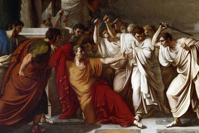Camuccini_Moord Julius Caesar_2