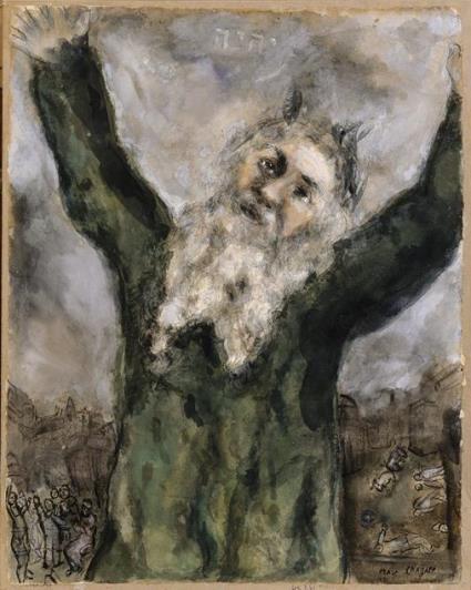 Chagall_Moses