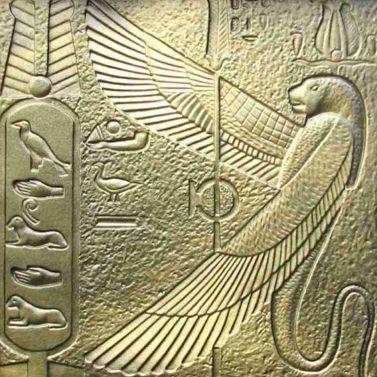 Egypte_gevleugelde slang