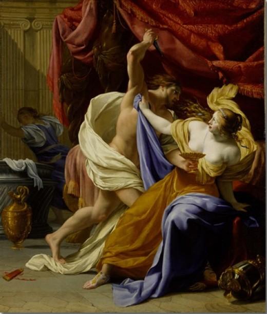 Eustache Le Sueur_Rape of Tamar_Metropolitan Museum of Art, NY