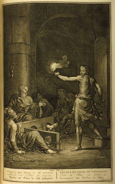 Gerard Hoet_Paulus en Silas in de gevangenis