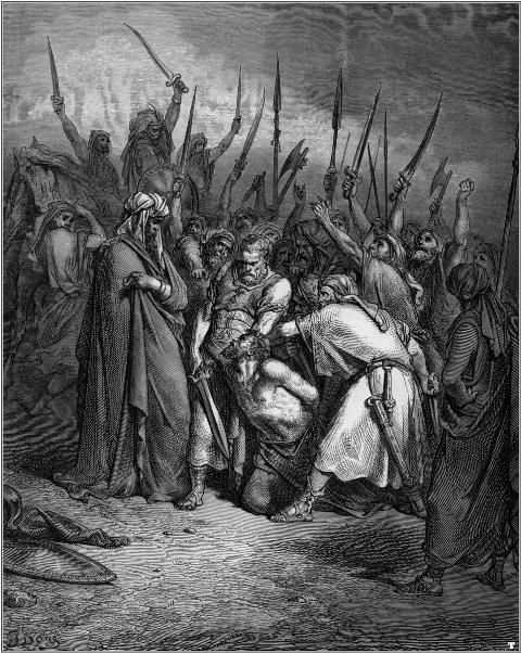 Gustave_Doré_Dood van Agag_L