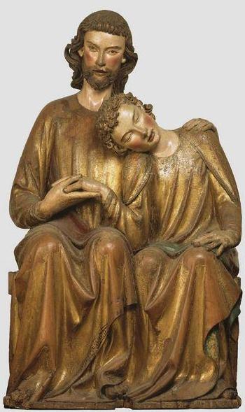 Heinrich von Konstanz-Christus-Johannesgroep, ca. 1285_M