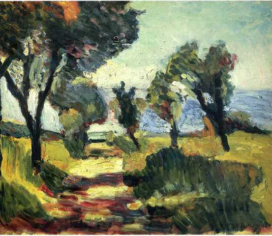 Henri Matisse_Olijfbomen_L