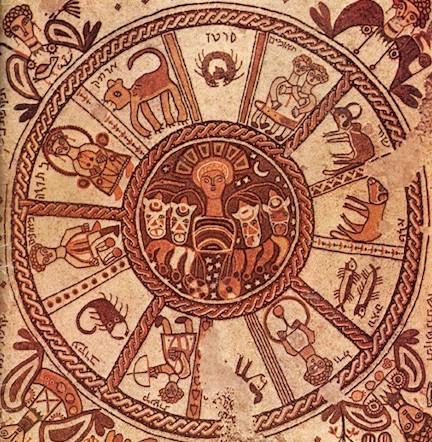Joodse zodiac voor tijdrekening_6de eeuw