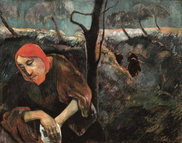 Paul_Gauguin_Christus op de Olijfberg_1889_L