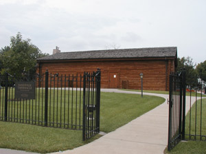The Reconstructed Kanesville Tabernacle Photo courtesy of Alexander L. Baugh