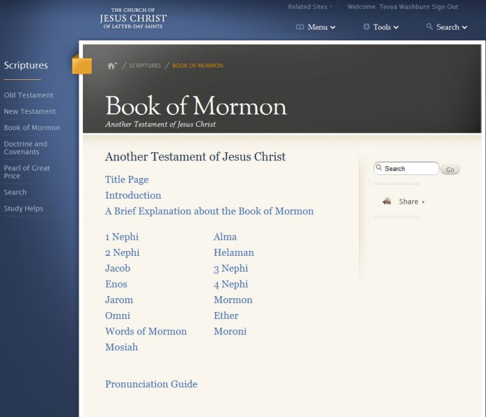 Help Improve New Online Scriptures