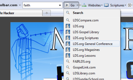 LDS Toolbar with 100's of LDS related links