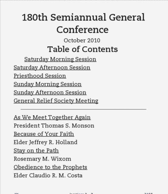 How To Put General Conference On Your Kindle