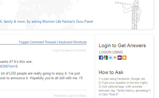 Ask MLH: Get Your LDS Tech & Life-Hacking Questions Answered