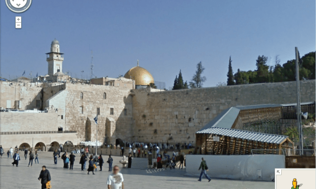 Explore Old Jerusalem on Google Maps Street View