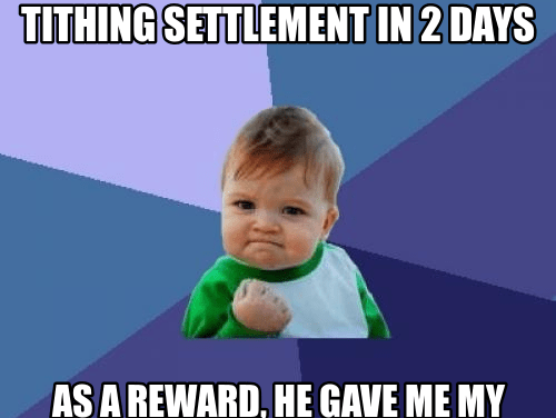 Tithing Settlement In 2 Days (Share This Gift With Your Bishopric)