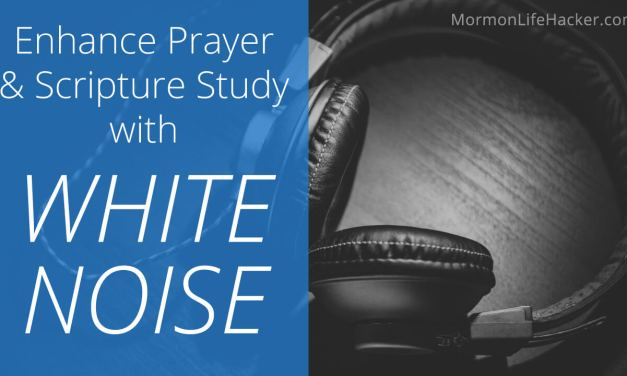 Enhance Personal Prayer & Scripture Study with White Noise