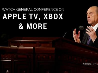 General conference on appletv xbox
