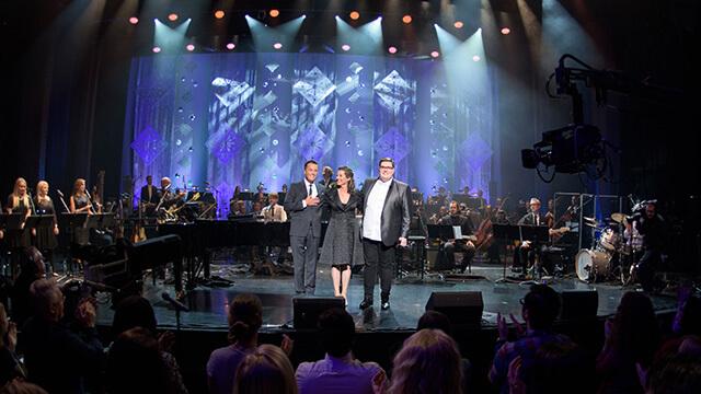 "Amy Grant, Michael W. Smith, and Jordan Smith headline BYUtv's ""Christmas Under the Stars"" special"
