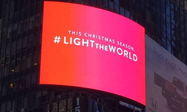 #LightTheWorld in 2018 by joining in the Worldwide Day of Service on December 1!