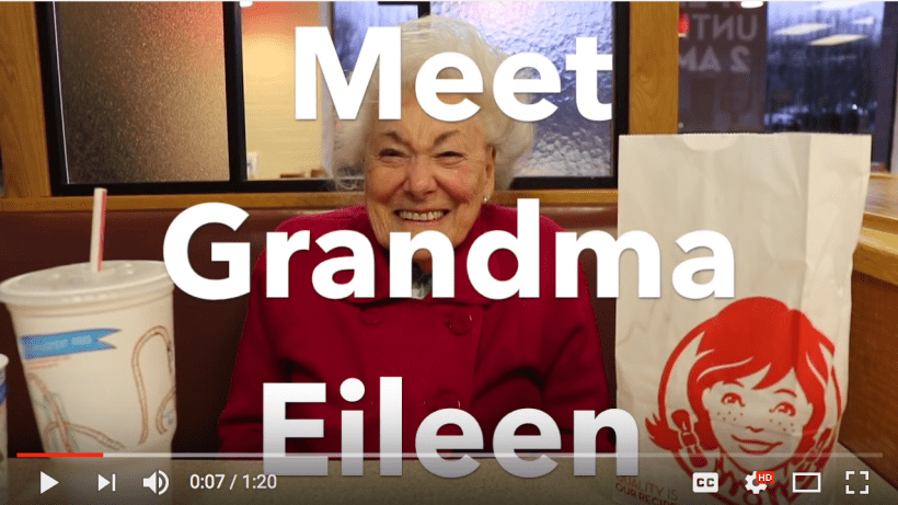 Meet Grandma Eileen #AskEileen 100 birthday funny
