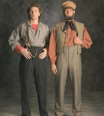 LDS Pioneer Trek Men Clothing