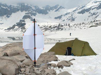 BSA Scout micro wind turbine scenario shoot Mormon Life Hacker