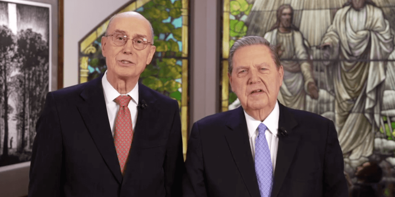 LDSFace2Face with Pres. Eyring and Elder Holland: March 4 at 11 a.m. ...