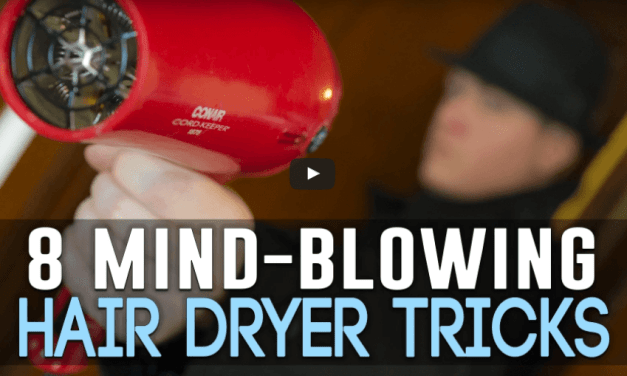 6 useful hair dryer hacks that will blow your mind!