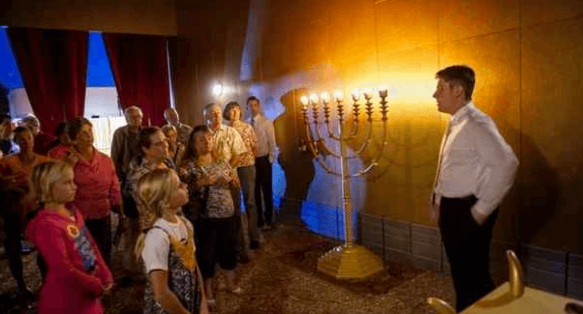 I want to join this LDS ward! They produce and display a replica of Moses' Tabernacle!
