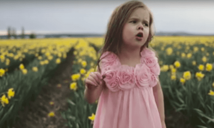 "Claire Ryann's #PrinceOfPeace video for #Easter—""Beautiful Savior"""
