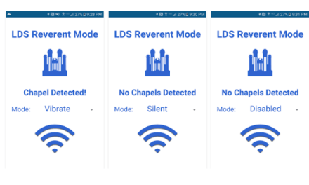 Is your phone in REVERENT MODE? Check out the LDS REVERENT MODE app!