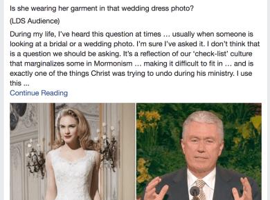 Richard Ostler Papa Ostler LDS Mormon Modesty