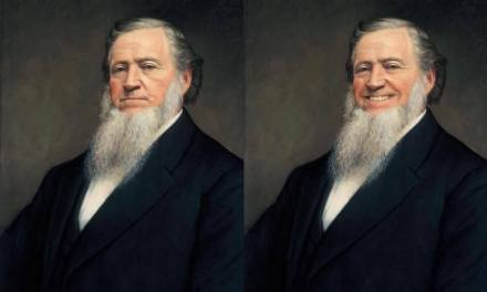 These slight edits to iconic LDS paintings will have you smiling…