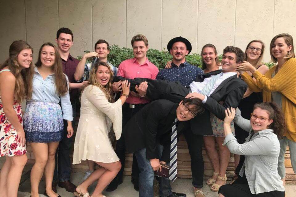 LDS Swimmer Opens Mission Call Before Winning National Swimming Title and Shares Testimony With Teammates at Farewell