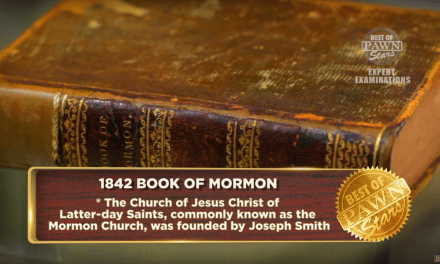 How much is The Book of Mormon actually worth? Pawn Stars may have the answer . . .
