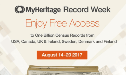 "Family Historians! Get access to 8 Billion Records on MyHeritage now (yes, BILLION with a ""b"")!"
