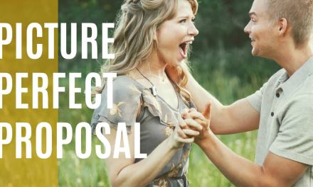PICTURE PERFECT PROPOSAL caught on video!
