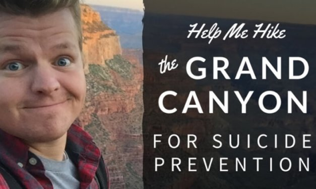 Hike the Grand Canyon for Suicide Prevention? That is what Seth Adam Smith intends to do.