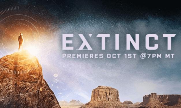 BYUtv's (and Orson Scott Card's) Extinct premieres on October 1! #ExtinctTV