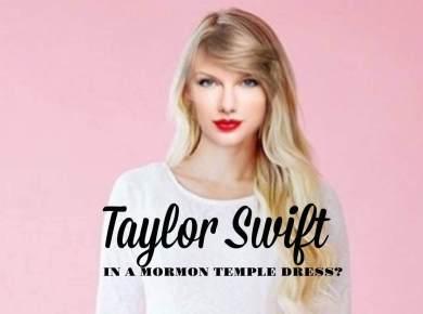 Taylord Swift LDS Mormon Temple dress Qnoor Q noor