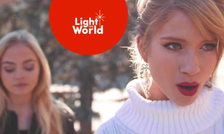 "Monica Moore Smith & Madilyn Paige #LIGHTtheWORLD with ""Mary Did You Know?"""