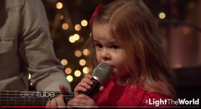 Claire Ryann Crosby Ellen Degeneres Ellen Tube Let There Be Peace on Earth Piano Guys #LightTheWorld