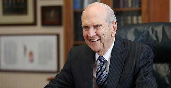 That time President Nelson fulfilled a prophecy . . .