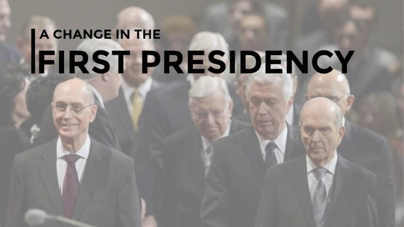 First presidency change