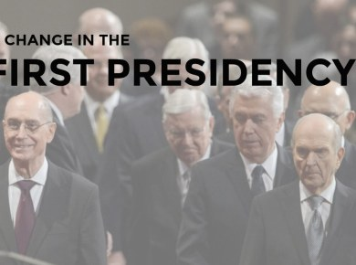 First presidency change