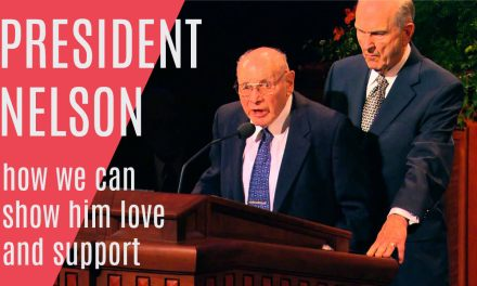 President Nelson—a must-see incident showing his love, concern, and support