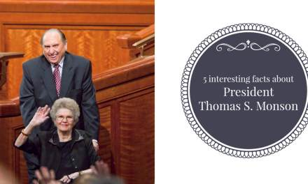 5 interesting facts about LDS President and Prophet Thomas S. Monson
