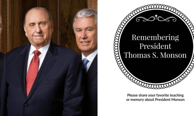 What is your favorite memory or teaching of President Thomas S. Monson?