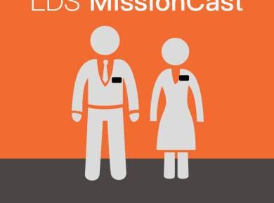 Lds missioncast podcast logo
