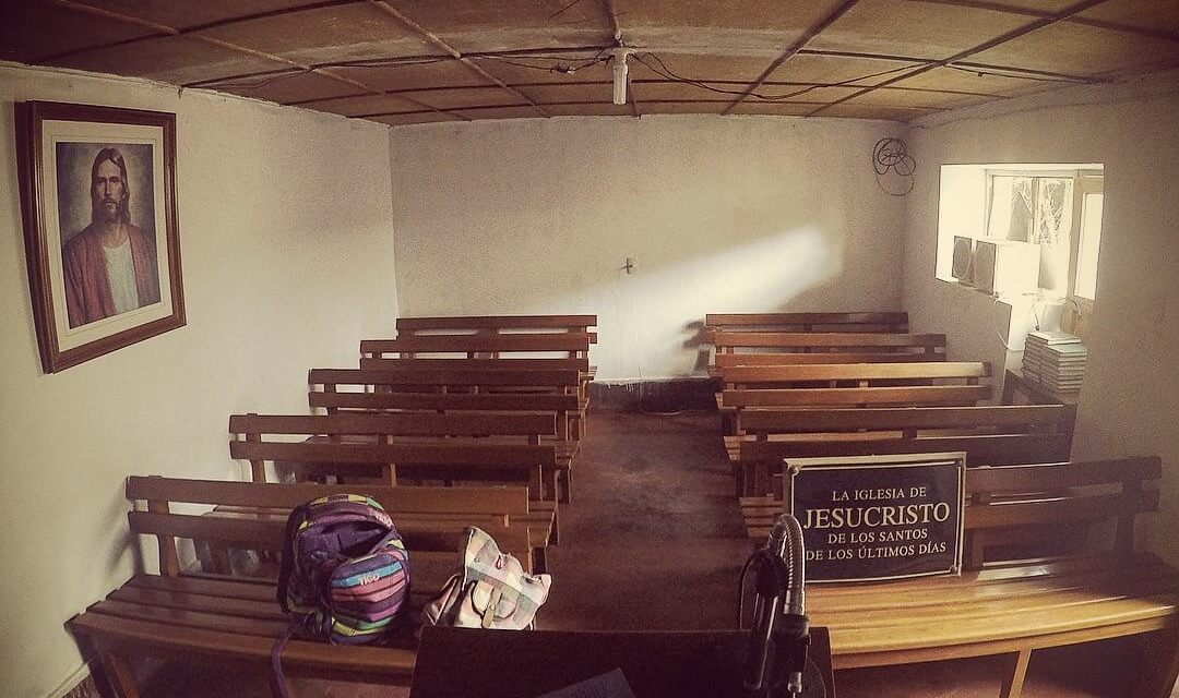 What a #Mormon chapel looks like on top of a mountain in Peru 🇵🇪