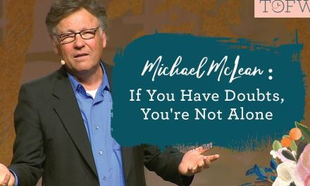 Michael McClean's faith crisis (If you have doubts, you're not alone)