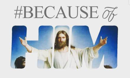 Hi Five Live #BECAUSEofHIM challenge for #Easter and #LDSConf